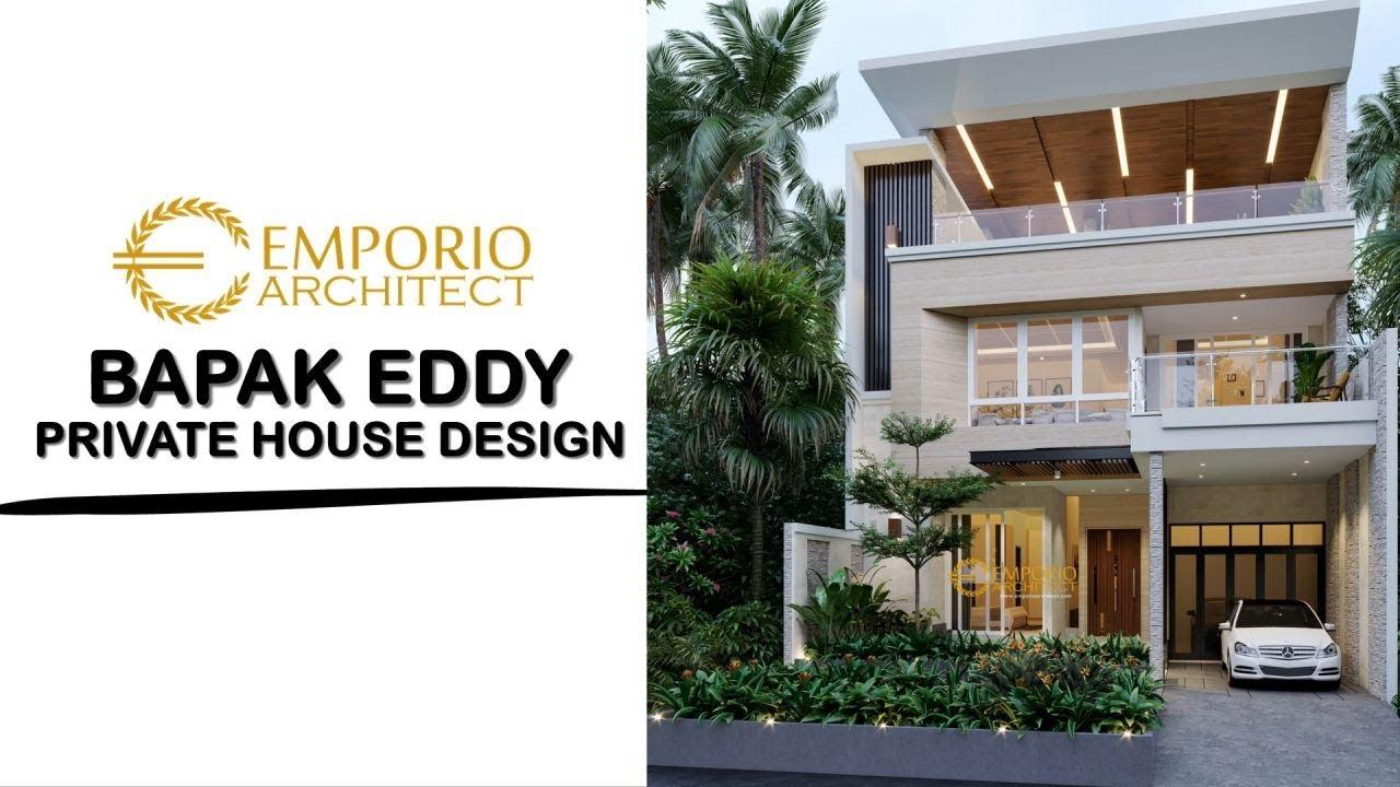 Video 3D Desain Rumah Modern 3 Lantai Bapak Eddy - Jakarta Utara
