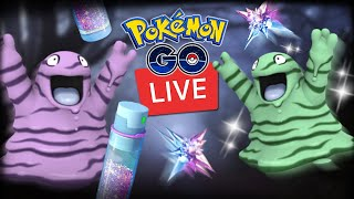 Grimer Shiny Spotlight Hour Live Hunt Pokemon Go