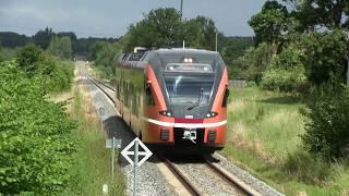 Штадлерский дизель-поезд 2320 на ст. Вильянди / Stadler DMU 2320 at Viljandi station