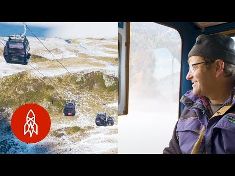 Getting Around the Swiss Alps with Cable Cars