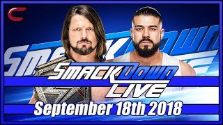 WWE SmackDown Live Stream Full Show September 18th 2018: Live Reaction Conman167