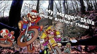 Super Mario Mountain Biking Theme! (While Testing the New Gimbal & Camera & Backpack)