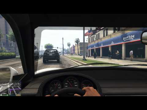 Grand Theft Auto V FPS Gameplay HD 60fps