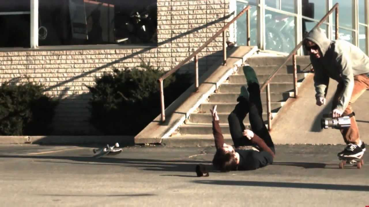 Watching Skateboarding Fails At 1000FPS Is Quite Fun