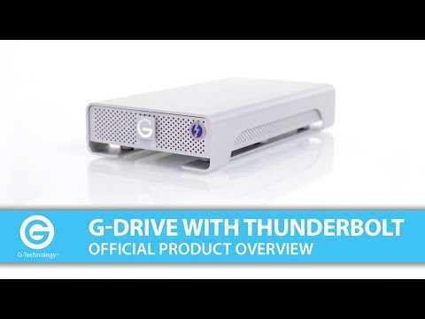 Meet the G-DRIVE with Thunderbolt