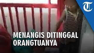 Viral Video Dua Batita Ditinggal Orangtua di Pinggir Jalan, Sambil Menangis hanya Bisa Teriak 'Mama'