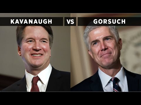 Brett Kavanaugh vs Neil Gorsuch