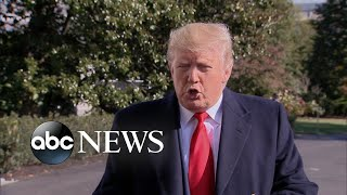 Trump demands identity of whistleblower