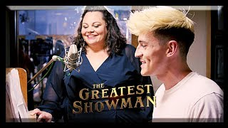 The Greatest Showman | 'This Is Me'   Piano Cover Ft. Keala Settle + Hugh Jackman Interview