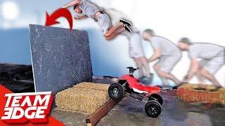 Dangerous Stunt Jump Competition!   Funny Fails!!