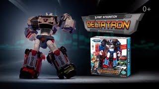 Tobot Deltatron - Тобот из 3 машинок