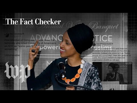Rep. Ilhan Omar's 'some people did something' comment on 9/11, in context | The Fact Checker