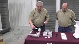 Composite, Fiberglass, and Aluminum Column Railing Attachment Options