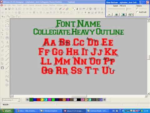 mp4 College Font Outline, download College Font Outline video klip College Font Outline