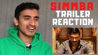 Simmba Trailer Reaction | Ranveer Singh | Sara Ali Khan | Sonu Sood | Rohit Shetty