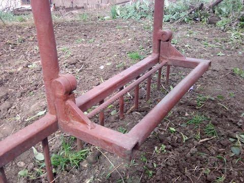Копалка для огорода. Как быстро и легко вскопать огород