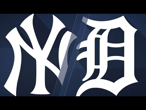 8/22/17: Yankees' offense erupts in rout of Tigers