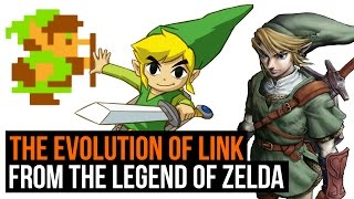 The Legend Of Zelda: The Evolution Of Link   1986 To 2016