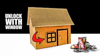 How To Make A Secret House Unlock With Window !!!