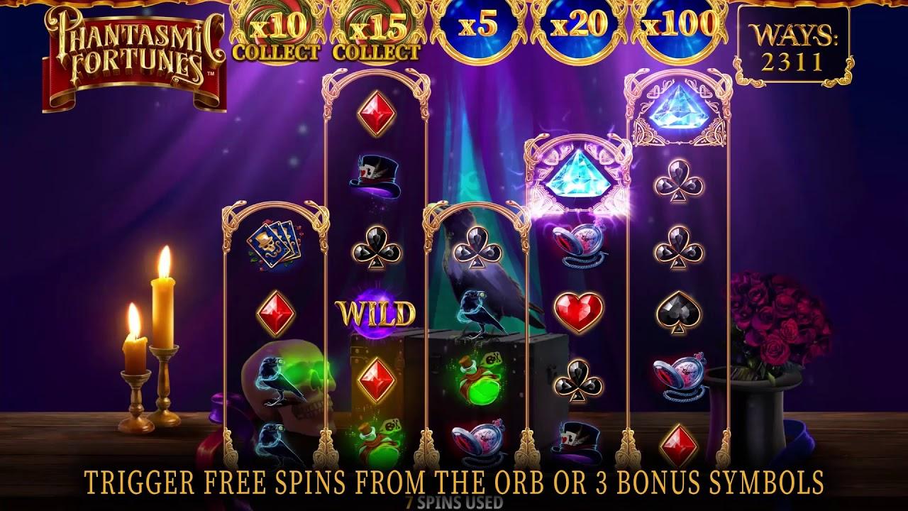 iSoftBet - Phantasmic Fortunes