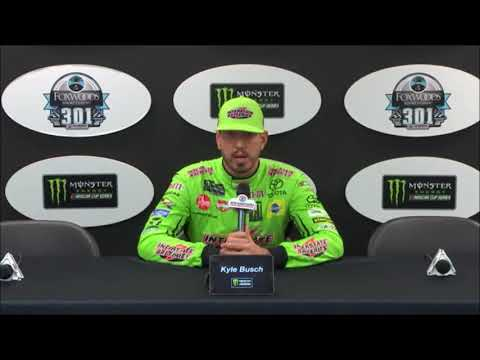 2019 NASCAR New Hampshire pre-race Q&A