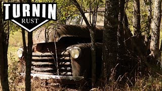 ABANDONED 1952 Chevy 3100 Rescued After 40 Years In The Woods! | Turnin Rust