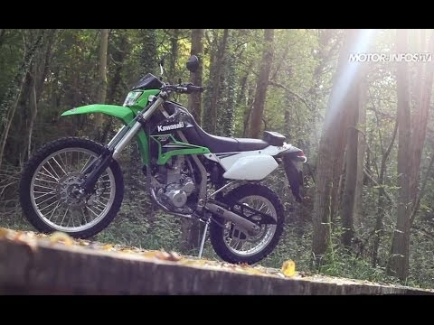 Essai Kawasaki KLX 250