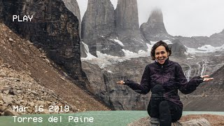The truth about hiking Torres del Paine! South America Travel Vlog