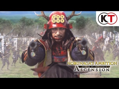 NOBUNAGA'S AMBITION: SPHERE OF INFLUENCE - ASCENSION - OFFICIAL TRAILER thumbnail