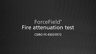 Fire attenuation test no. FS 4302/3572
