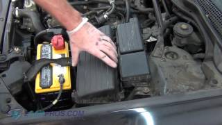 Air Filter Replacement Acura TSX