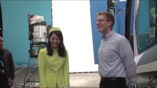 厚切りジェイソンTVCM ロッテのど飴「佐々木希ツアーガイド篇」メイキング映像LotteAd60秒