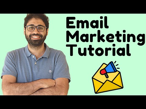 Email Marketing Tutorial For beginners - Full Course in 1 Video ...