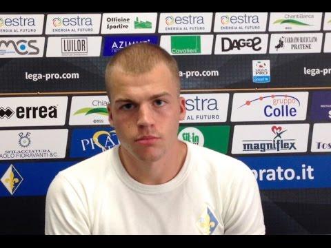 Preview video Riprendono gli allenamenti del Prato, parla il centrocampista Luca Checchin