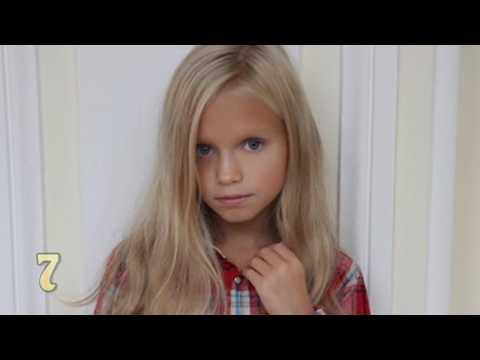 Top 10 Non U.S. Child Models