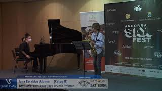 Jana Escabias Alonso plays Spiritual et Danse exotique by Jean Avignon