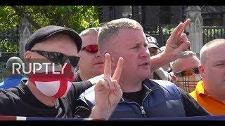 ÉLŐ videó – Tommy Robinson és a patrióták kivonultak London utcáira, hogy megvédjék a várost