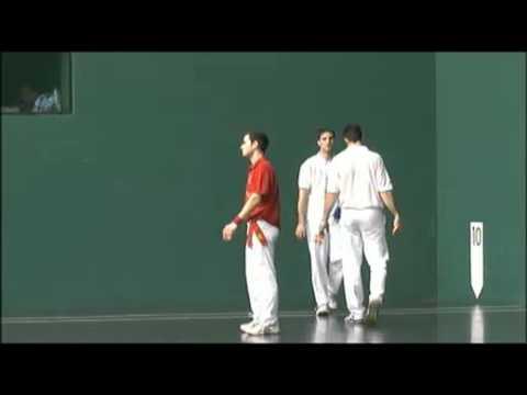 Pelota Cto. España de Clubes. Final Mano Parejas (2)