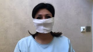 video: Watch: How to make a no-sew, government-approved cloth face mask
