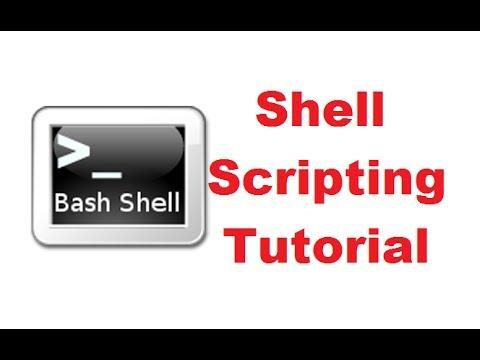 Bash Shell Scripting Tutorial | Shell Scripting Tutorial | Learn Shell Programming