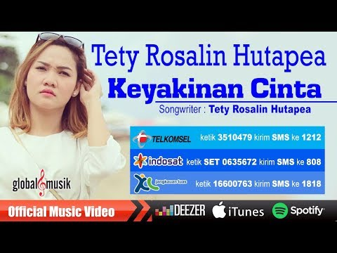 Tety Rosalin Hutapea - Keyakinan Cinta (Official Lyric Video)