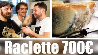 Raclette à 20€ VS Raclette à 700€ avec Bapt et Gaël !