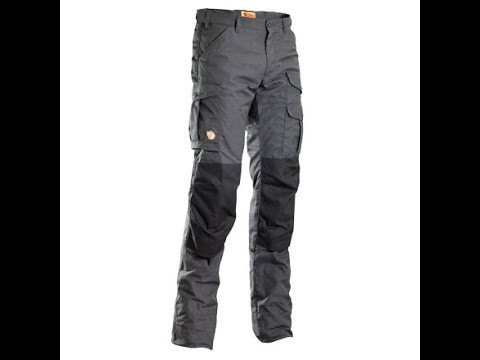 Fjallraven Barents Trousers - Review - The Outdoor Gear Review