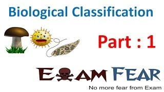 Biology Biological Classification part 1 (Introduction & Aristotle) CBSE class 11 XI