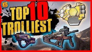 Top 10 Trolliest Items in Borderlands 2