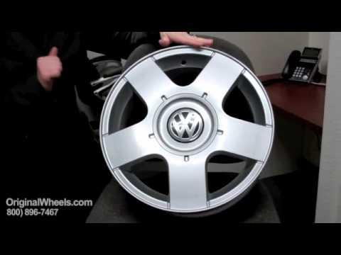Routan Rims & Routan Wheels - Video of Volkswagen Factory, Original, OEM, stock new & used rim