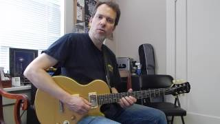 "Easy blues lead guitar lesson: Peter Green, ""I Loved Another Woman"""
