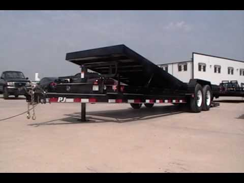 2017 PJ Trailers Powered Full Tilt (TF) in Kansas City, Kansas