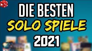 Top 10 Solo Brettspiele 2021 - Welche Solo Spiele sich so richtig lohnen!
