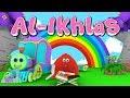 Animation 3D Juz Amma Al Ikhlas Recite Quran with Battar Train Hijaiyah ABATA Channel